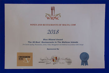Wines and Restaurants of Malta Awards