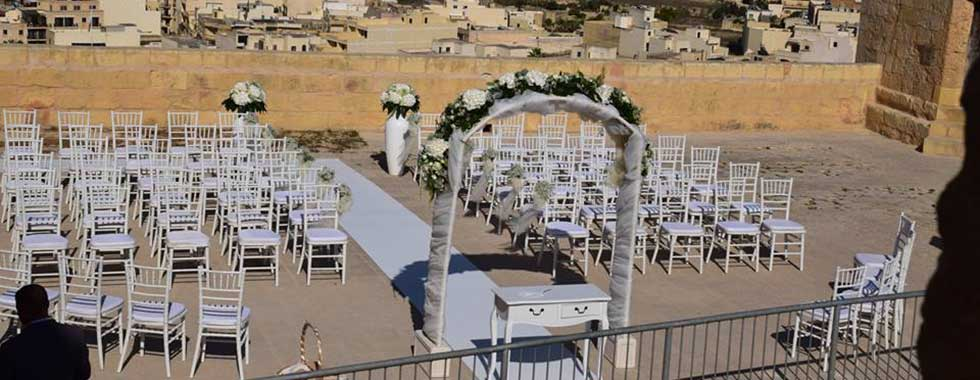 Wedding Ceremony at Cittadella (Gozo)